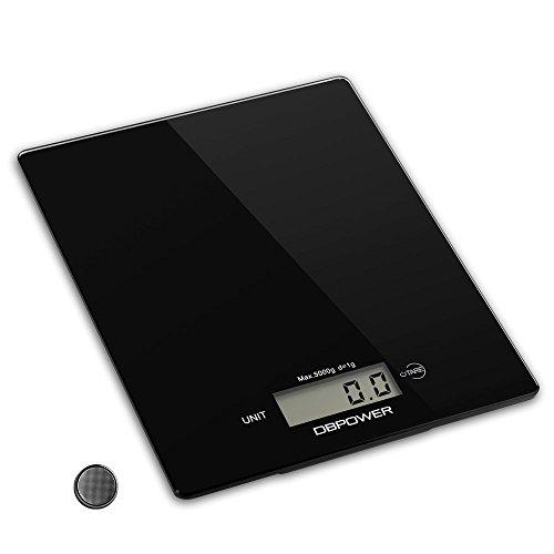 Bilancia digitale da cucina DBPOWER 11lb/5000z,...