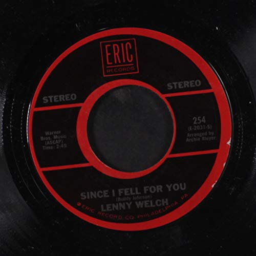 since i fell for you / the ballad of davy crocket 45 rpm single
