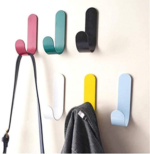 20 piezas gancho de pared de hierro autoadhesivo pegajoso cocina hogar baño baño bola llave bolsa perchero almacenamiento soporte colgante estante