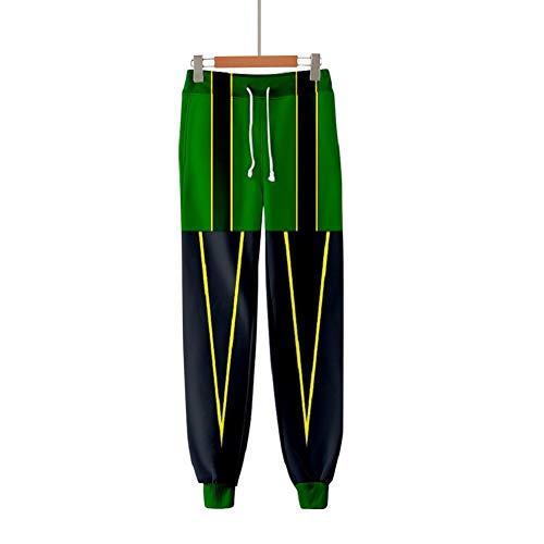LILLIWEEN My Hero Academia Joggers Sweatpants 3D Anime Print Track Baggy Trousers Women/Men Unisex L
