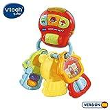 VTech 3480-50532 Porte-clés Baby Keys Hochet électronique interactif avec Voix et lumières