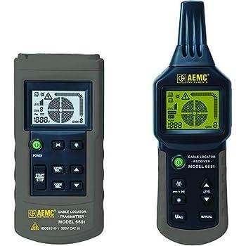 AEMC 6681  2127.85  Cable Locator Transmitter/Receiver