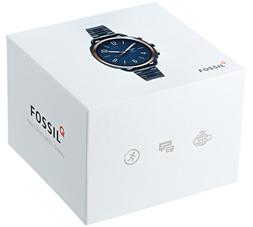 Fossil Hybrid Smartwatch – Q Accomplice Navy Blue Stainless