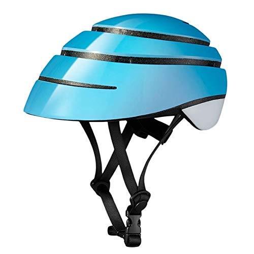 Casco de bicicleta, adultos integralmente moldeada cubierta de Medio Escalada plegable EPS...