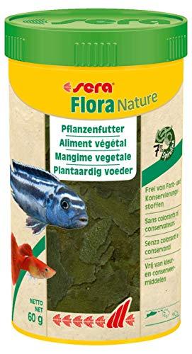 sera Flora Nature 250 ml Fischfutter Aquarium Guppy Futter
