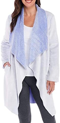 Karen Neuburger Women s Long Sleeve 37 Wrap Robe Glacier L product image