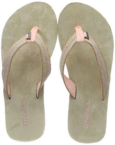 O'Neill Damen FW Natural Strap Sandals Riemchensandalen, Pink (Bless), 38 EU