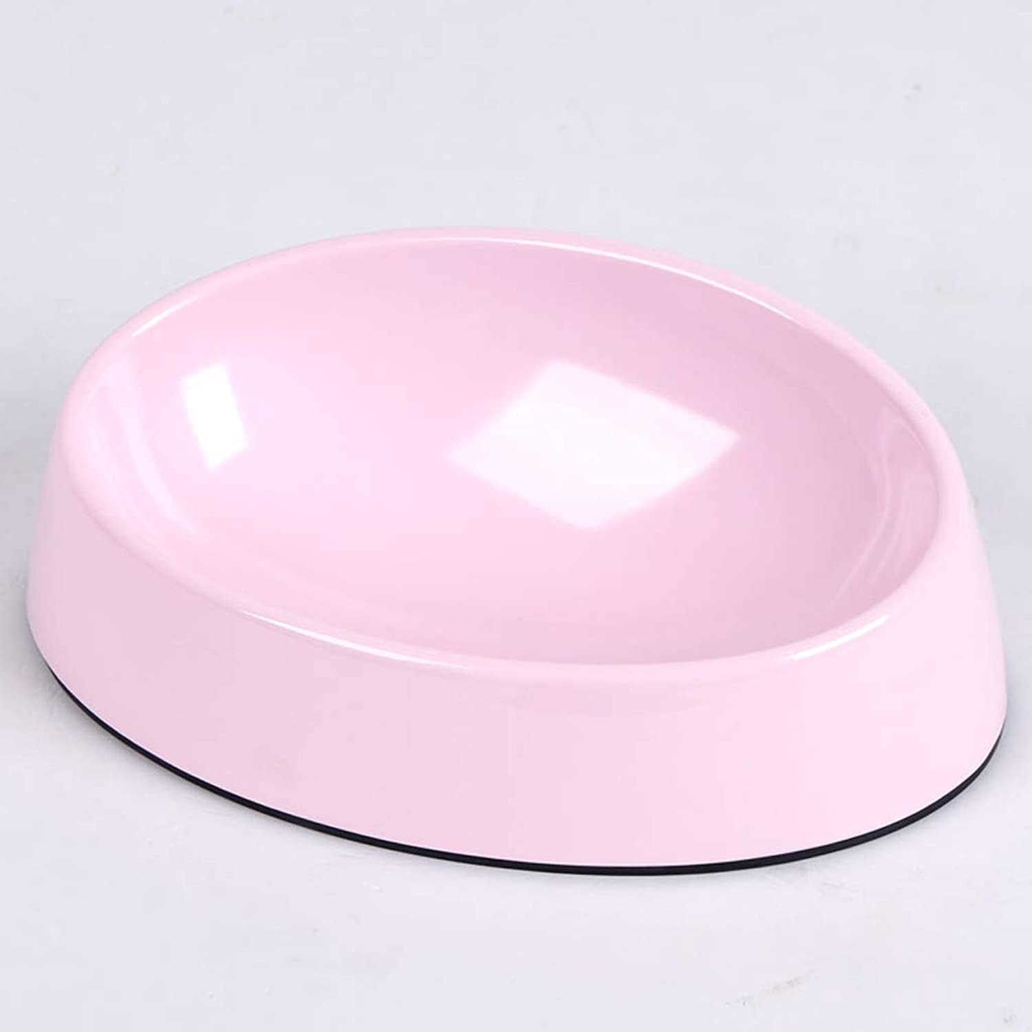 MXD Dog Bowl Flat Flat Face Pet Dog Food Bowl Food Bowl Dog Bowl Cat Bowl Wide Mouth Bowl (Size   S)