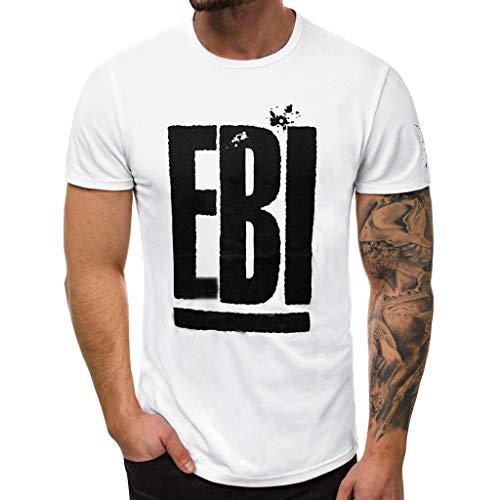 Sylar Camiseta para Hombre,Camisa Casual De Manga Corta con Cuello Redondo EBI Impreso para Tops Blusa Las Actividades Diarias, Deportes Al Aire Libre, Playa, Hogar, Vacaciones