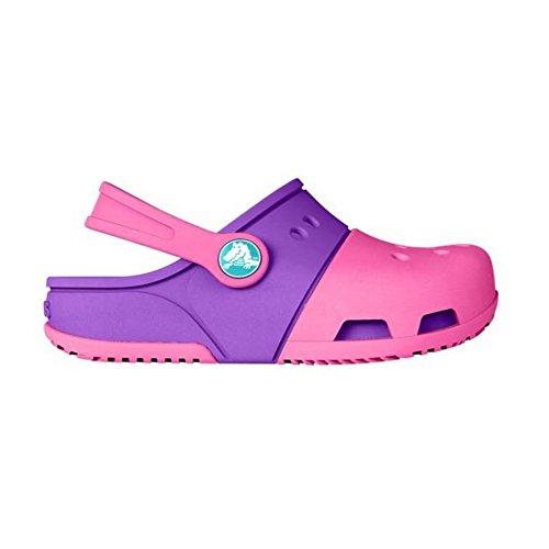 crocs Electro II Kinder Clogs (20/21 EU) (Pink/Violett)