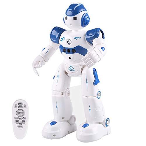 Eariy Smart Robot juguete, control de gestos y bot RC para niños, se carga con cable USB, reproductor de música programable, juguete de regalo de Navidad