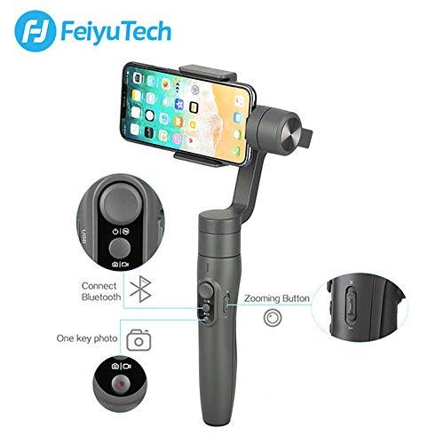 Feiyu Gimbal vimble 2stabilizzatore 3Assi con Asta di stabilizzazione di Treppiede Perfetto per Smartphone