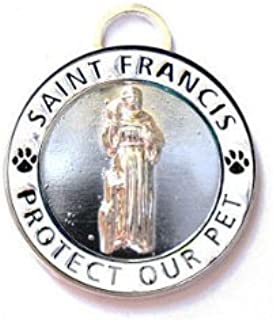 Luxepets St Francis Charm Large, White