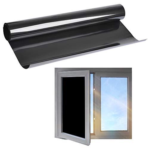 TIMESETL 44.5cm x 2m Pegatina Protectora Solar para Ventanas