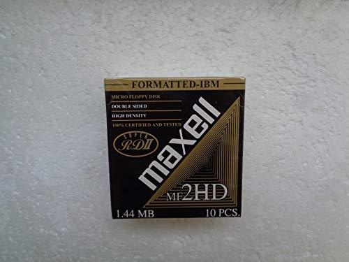 Maxell MF2HD 1,44 MB Disketten - 10 STK.