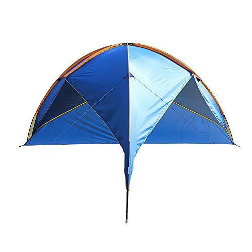 APENCHREN Gazebo Event Shelter 5-8 personen, Tuin en camping, Grote Event Tent, Draagbare Sun Shelter, Outdoor Beach Tent 480x480x200cm/15.7x15.7x6.5ft Blauw