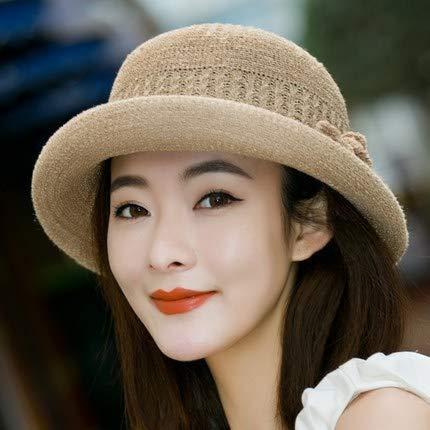 Sombrero literario de Moda Coreana, Sombrero de Pescador de Punto Femenino, Sombrero de Copa británico, Sombrero de Lavabo Salvaje Informal de Moda Coreana