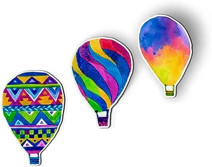 Hot Air Balloon Festival Up in the Air Kitchen Refrigerator Locker Button Magnet