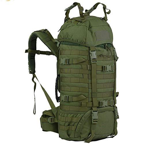 Wisport Raccoon 45 Liter Militär Rucksack, Cordura, MOLLE, Rucksack, Überleben, Sport, Outdoor, Camping, Wandern, Scouting, Trekking (Olive Green)