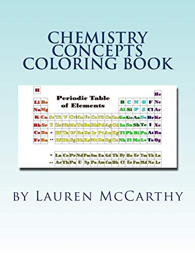 Chemistry Concepts Coloring Book