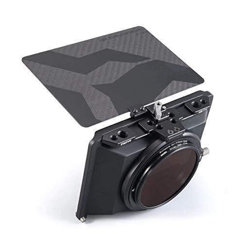Tiltaing MB-T15 4 * 5.65 Tilta Mini Matte Box für DSLR mirrorless Style Cameras Tilta Lens Hood Accessories Lens Ring für Kompatibel mit BMPCC 4K 6K A7SIII A7 A7R IV GH5s