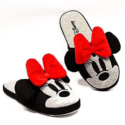 Pantufa Chinelo Solado Borracha Minnie Mouse Disney Original (36/38)