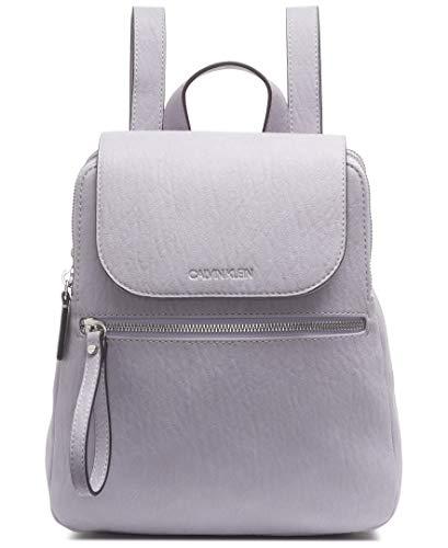Calvin Klein Damen Elaine Bubble Lamb Novelty Key Item Flap Backpack Rucksack, Dusty Flieder, Einheitsgröße