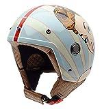 NZI tonup Graphics casco da moto (ragazza Bella, medio)