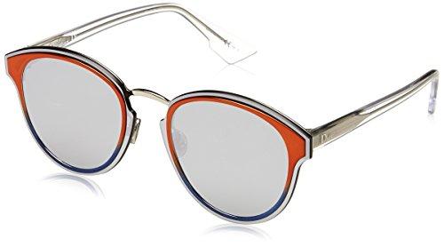 Dior Damen DIORNIGHTFALL 0T L7Q Sonnenbrille, Orange (Orange/Grey Silver Ar), 65
