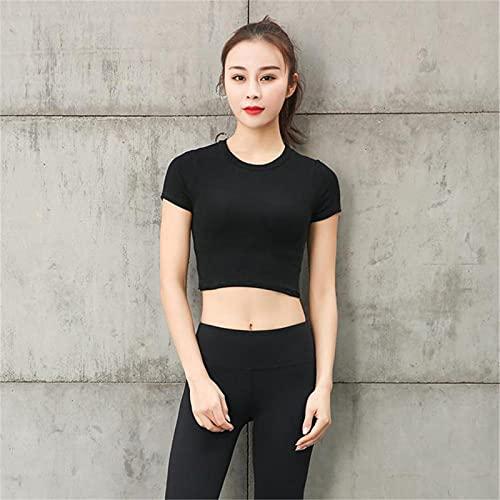 MDW WYR - Camiseta deportiva de manga corta para mujer (talla B-M)