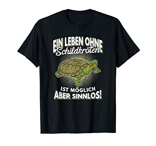Ein Leben ohne Schildkröten Rotwangenschmuckschildkröte T-Shirt