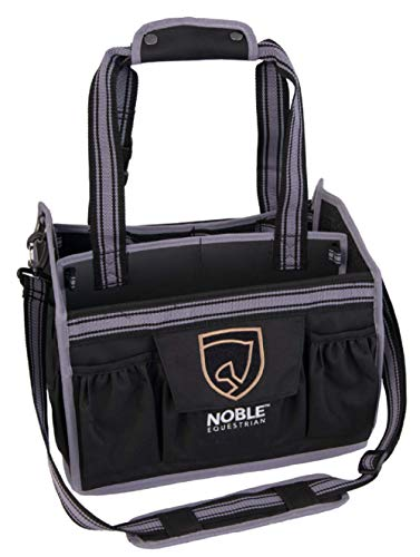 Noble Outfitters Equin Essential Tote/Fellpflege Tasche, brombeerfarben