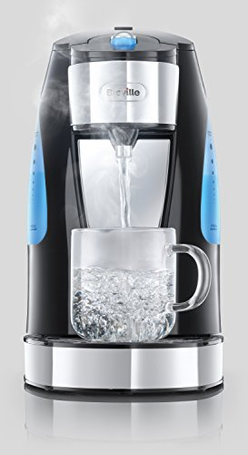 Breville HotCup Hot Water Dispenser, 3 KW Fast Boil, 1.5 Litre, Gloss Black [VKJ142]