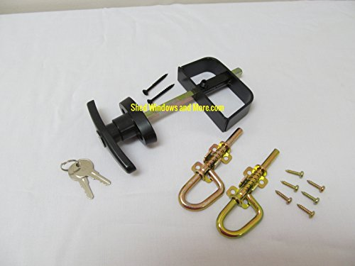 Shed T-Handle Lock Set 5-1/2