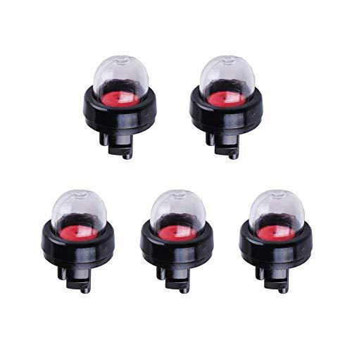5 Pcs General Snap-In Imprimación Bombilla, Presión de Gasolina en el Cebador Bomba de Combustible para Stihl/Weed Eater/McCulloch/Ryobi Echo, Bombilla de imprimación para MCCULLOCH 3200 3210