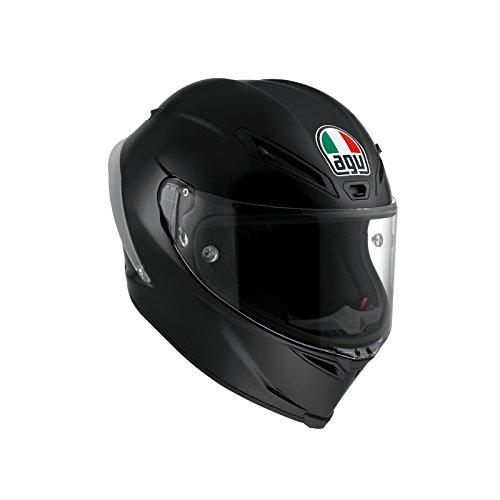 AGV Motorradhelm Corsa R E2205 Solid PLK, Schwarz, Größe S