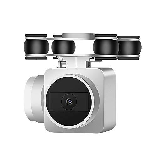 LZDseller01 - Cámara de vídeo de gran angular WiFi, cuadricóptero, dron con cámara para adultos, vídeo en directo HD 1080p, lente de mantenimiento RC Quadcopter Altitud