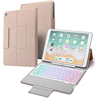 CQQDOQ Slim Folio Combo Keyboard Case for 10.2