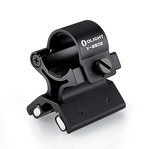Olight X-WM03 Magnethalter Halterung mit Kraft-Magnet für Profis - geeignet für die Taschenlampen, 23-26 mm Durchmesser