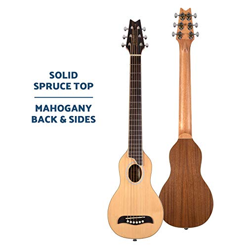Washburn Rover 6 String Acoustic Guitar, Right, Natural, Full (RO10SK-A)