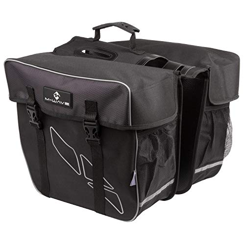 M-Wave Day Tripper Double Pannier Alforjas traseras Dobles,