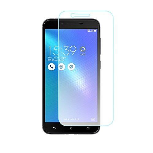 ZenFone用 ZenFone 3 Max ZC520TL 強化ガラスフィルム 硬度9H 2.5D Touch対応 超薄型 気泡防止 自動吸着 指紋防止 強化ガラス 高透過率 ガラスフイルム 液晶保護 飛散防止 防油汚れ ゼンフォン3 Max
