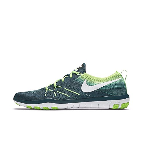 Nike Damen 844817-301 Fitnessschuhe, Türkis Midnight Turq White Electric Green, 38.5 EU