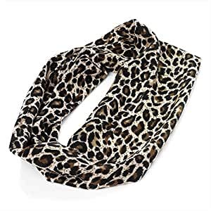 Bling Online Leopard Animal Print Elasticated Fabric Bandeaux H