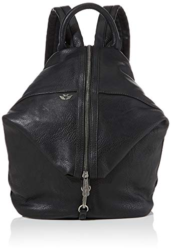 Fritzi aus Preussen Damen Marit Reloaded Rucksackhandtasche, Schwarz (Black), 13x26x31 cm