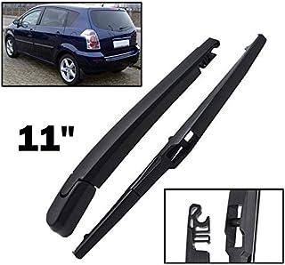 Xukey - Juego de limpiaparabrisas trasero y brazo para Corolla Verso AR10 2004 2005 2006 2007