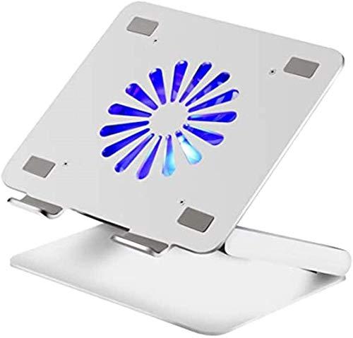 Soporte Plegable Ajustable Para Computadora Portátil, Soporte Para Ventilador De Refrigeración Con Concentrador Usb, Almohadilla Para Enfriar Compatible Con Apple Mac Macbook Pro Air, Portátil Para J