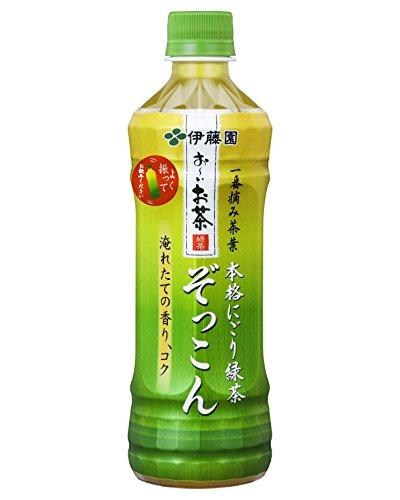 伊藤園 おーいお茶 ぞっこん ペット 500ml ×24本