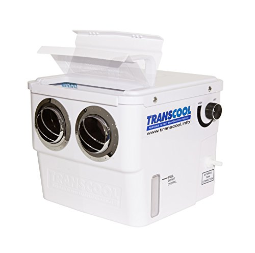 TransCool® - Sistema per il raffreddamento dell'aria per evaporazione, super-leggero (solo1,5kg), per...