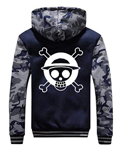 WANHONGYUE One Piece Luffy Anime Sudadera con...